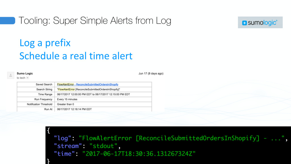 Tooling: Super Simple Alerts from Log Log a pre...