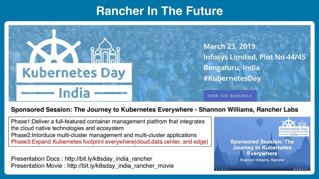 Rancher In The Future Sponsored Session: The Jo...