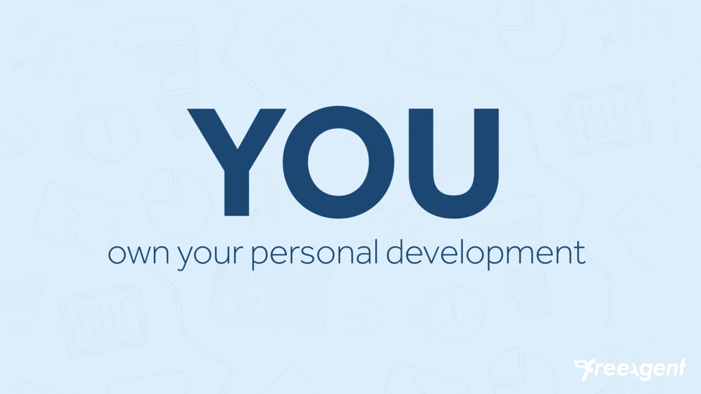 YOU own your personal development