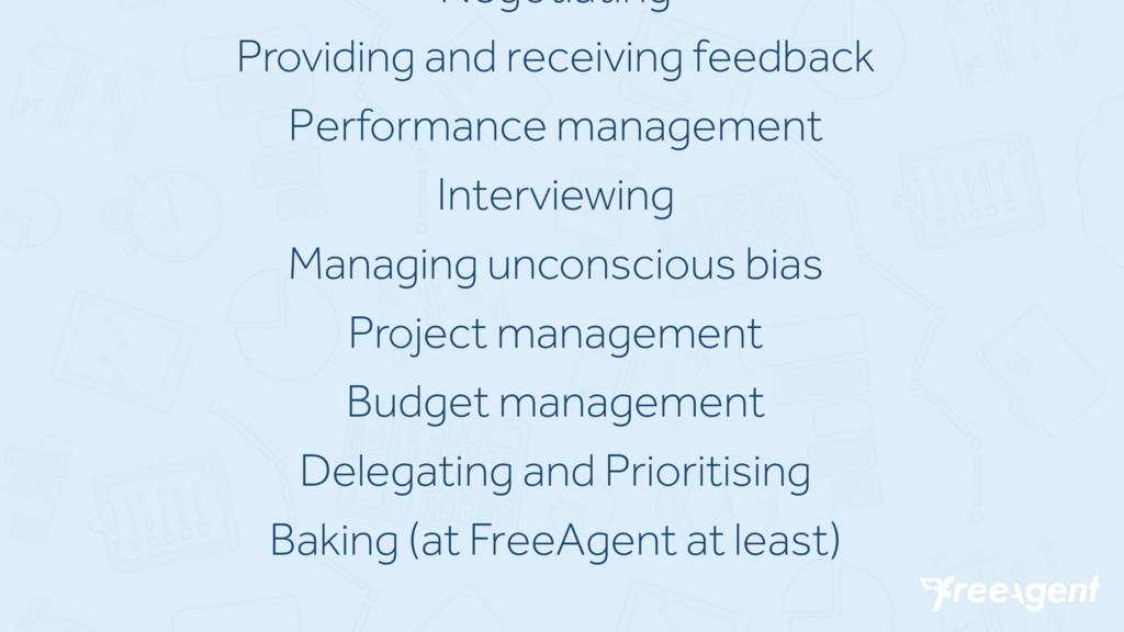 Negotiating Providing and receiving feedback Pe...