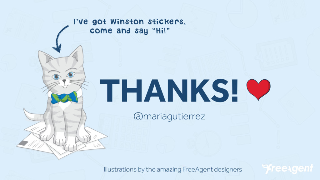 THANKS! @mariagutierrez I've got Winston sticke...