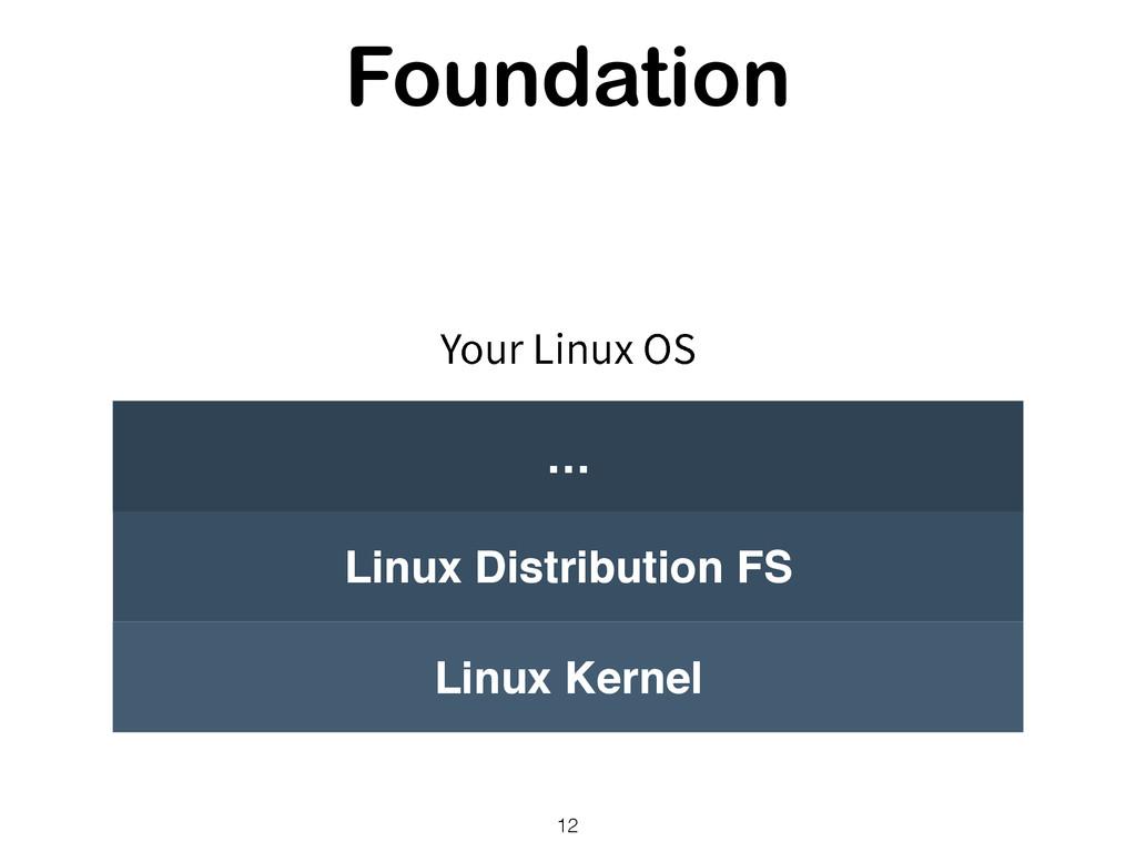 Foundation 12 Linux Kernel Linux Distribution F...