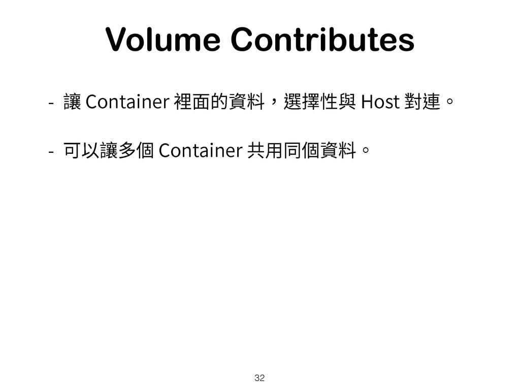 Volume Contributes  雊$POUBJOFS酭涸须俲鼇乵䚍莅)PT...