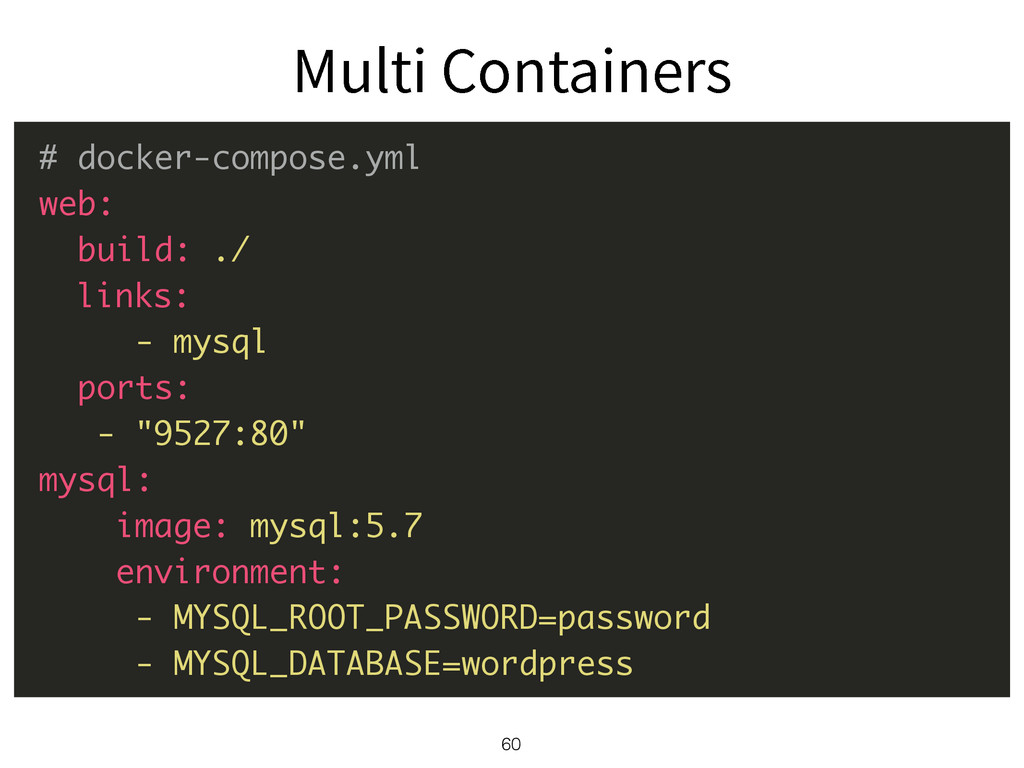 60 # docker-compose.yml web: build: ./ links: -...