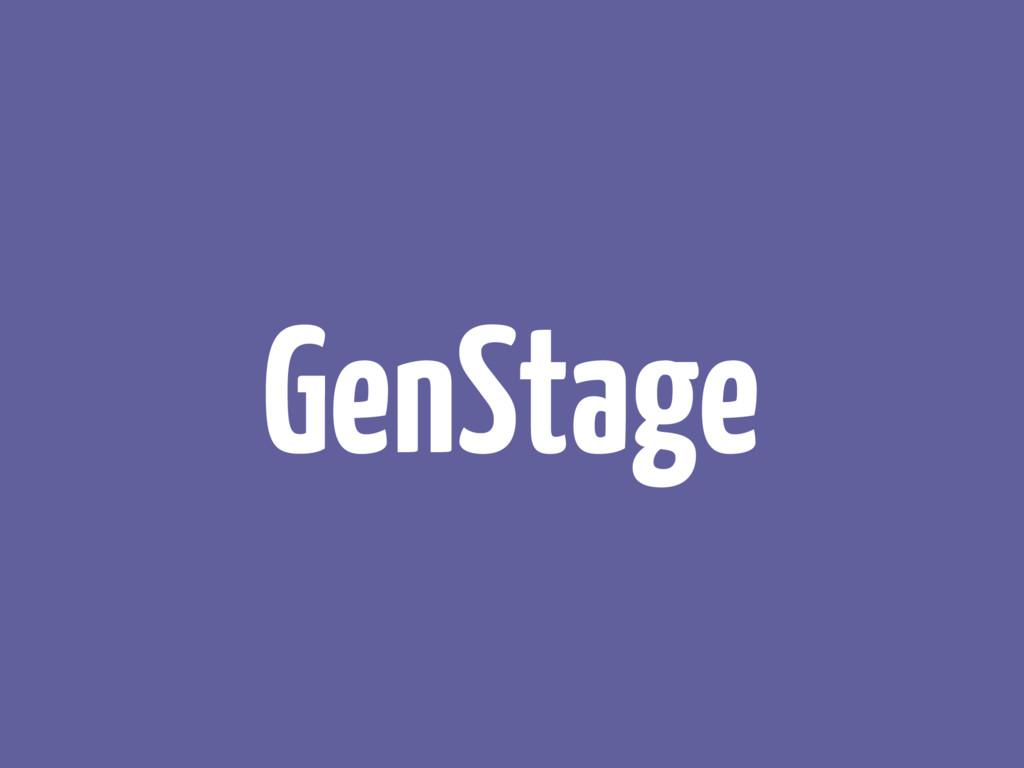 GenStage