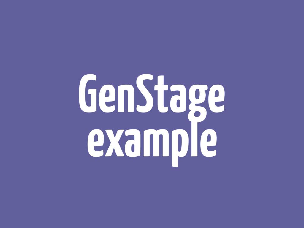 GenStage example