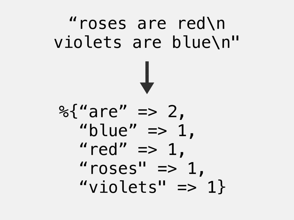 """""""roses are red\n violets are blue\n"""" %{""""are"""" =>..."""