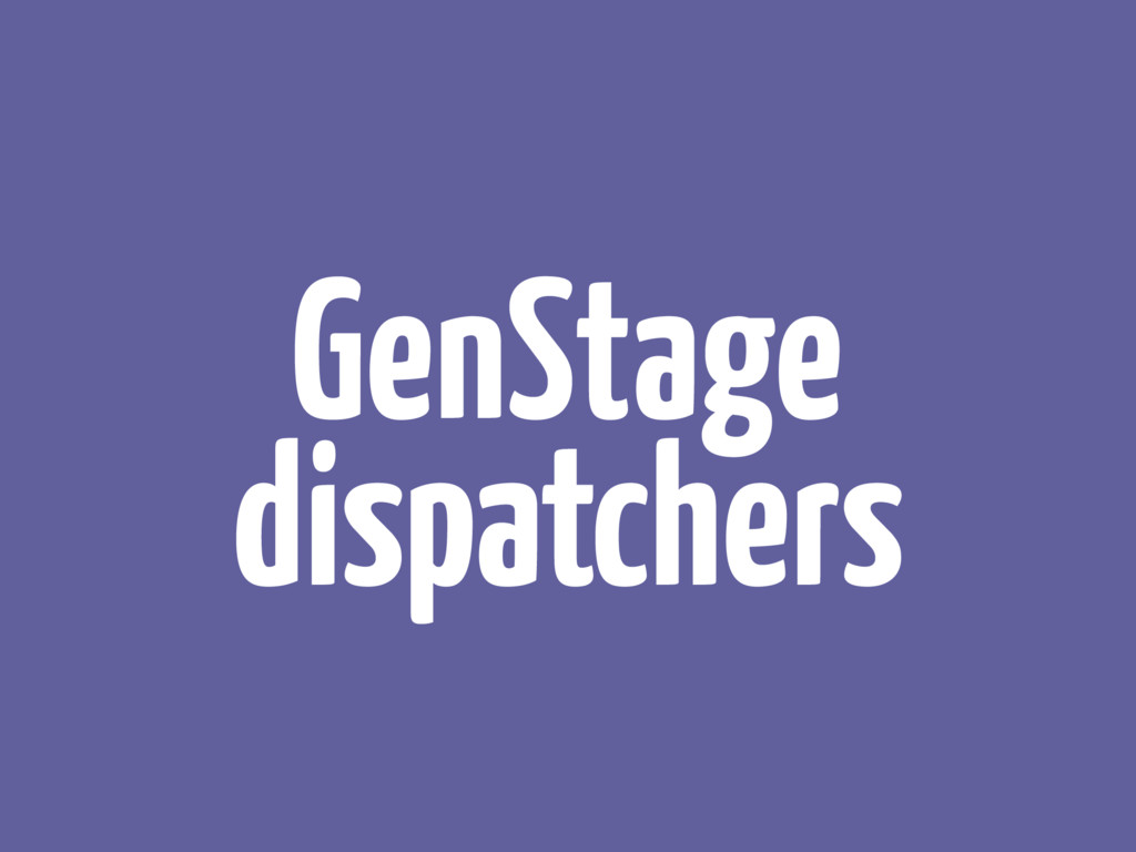 GenStage dispatchers