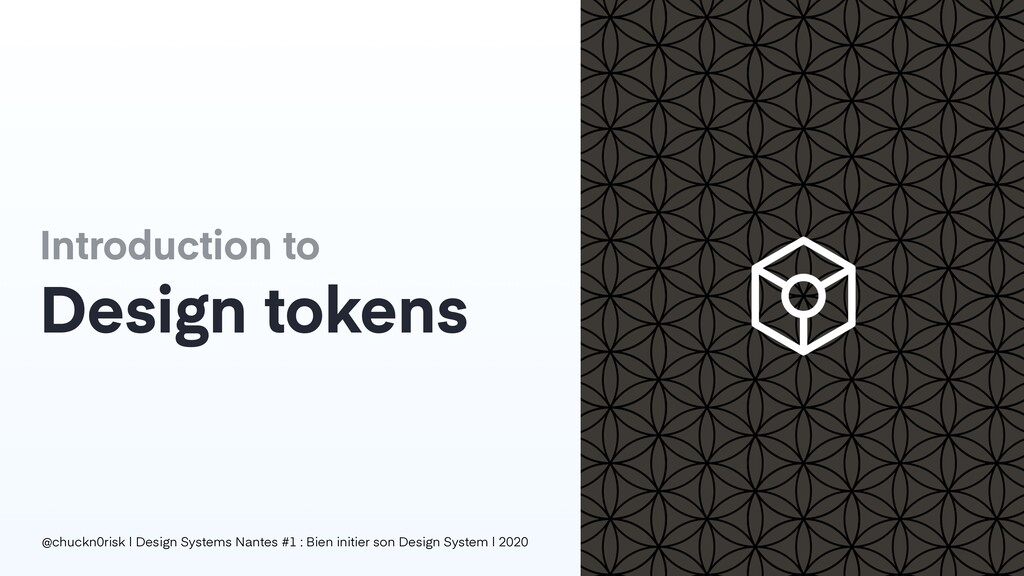 Introduction to Design tokens @chuckn0risk | De...