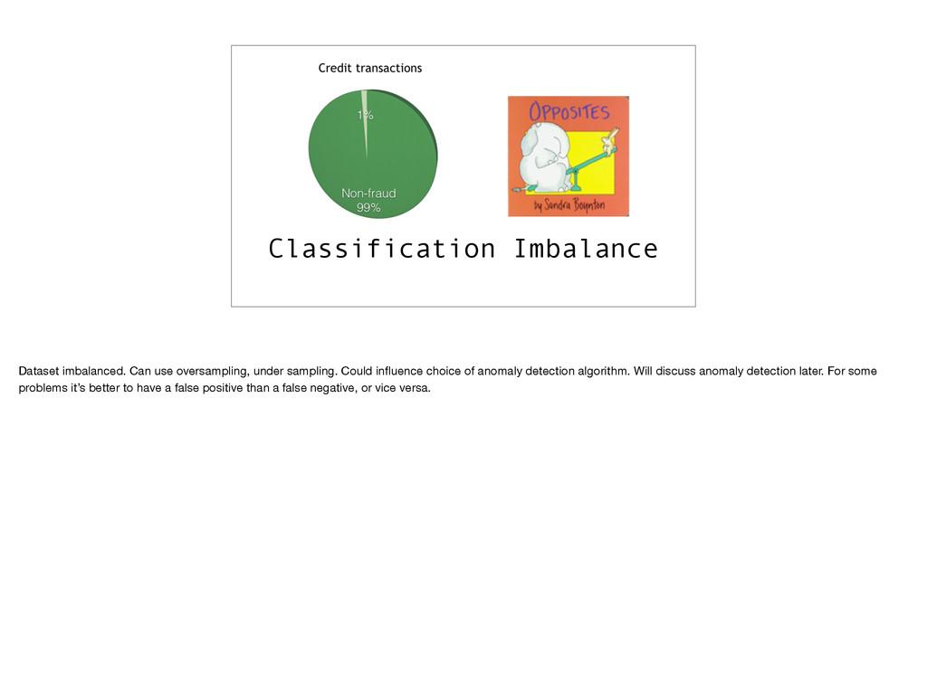 Classification Imbalance Dataset imbalanced. Ca...