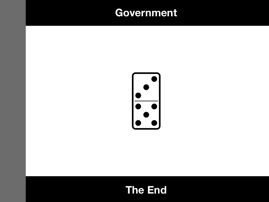 Government The End