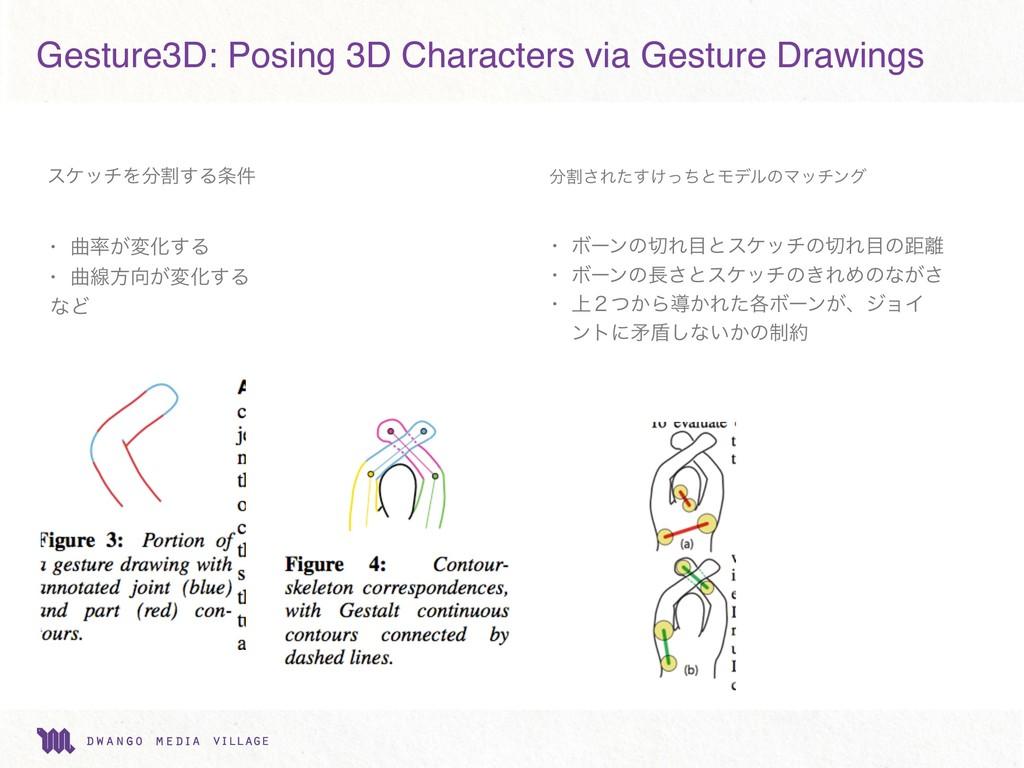Gesture3D: Posing 3D Characters via Gesture Dra...