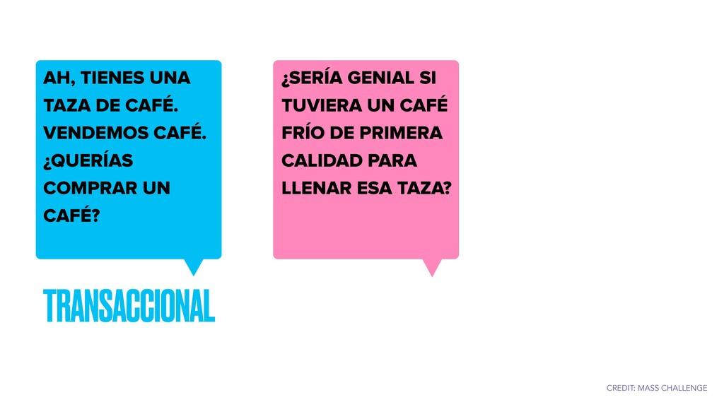 TRANSACCIONAL AH, TIENES UNA TAZA DE CAFÉ. VEND...
