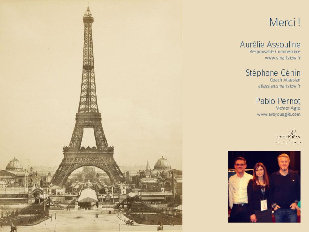 Merci ! Aurélie Assouline Responsable Commercia...