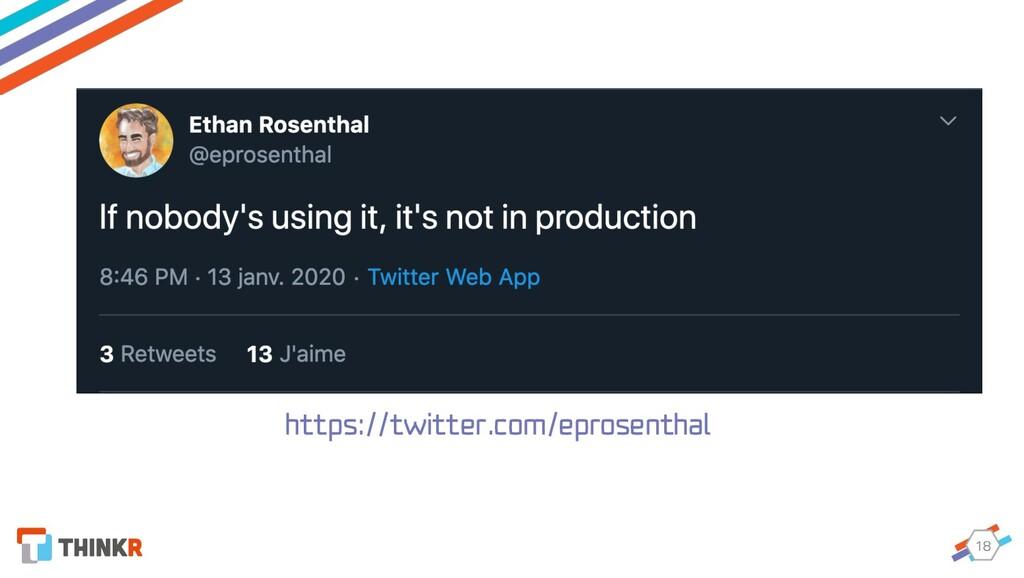 18 https://twitter.com/eprosenthal