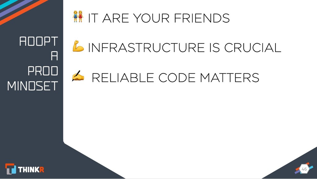 46 46  IT ARE YOUR FRIENDS  INFRASTRUCTURE IS C...