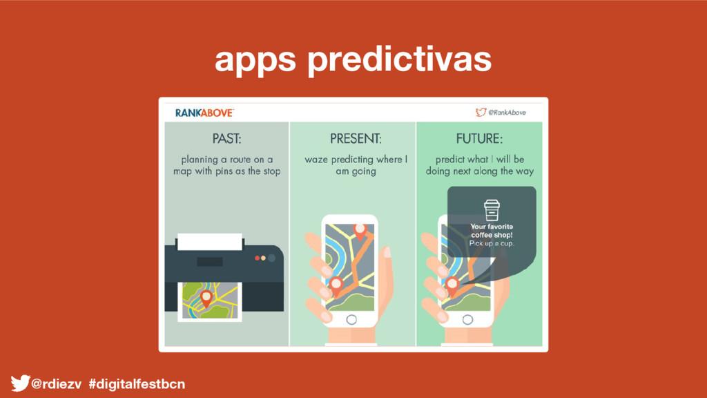 apps predictivas @rdiezv #digitalfestbcn