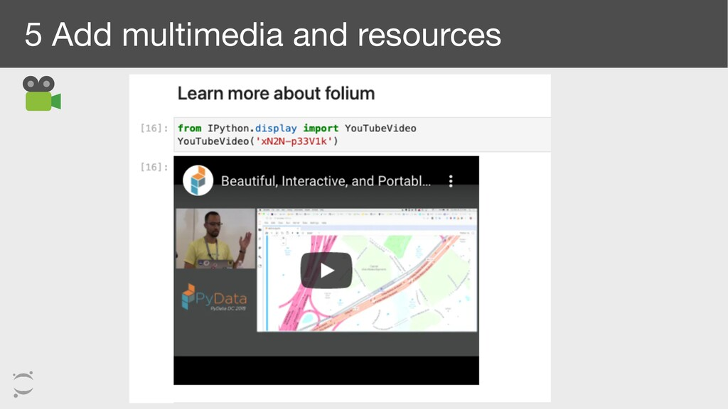 5 Add multimedia and resources