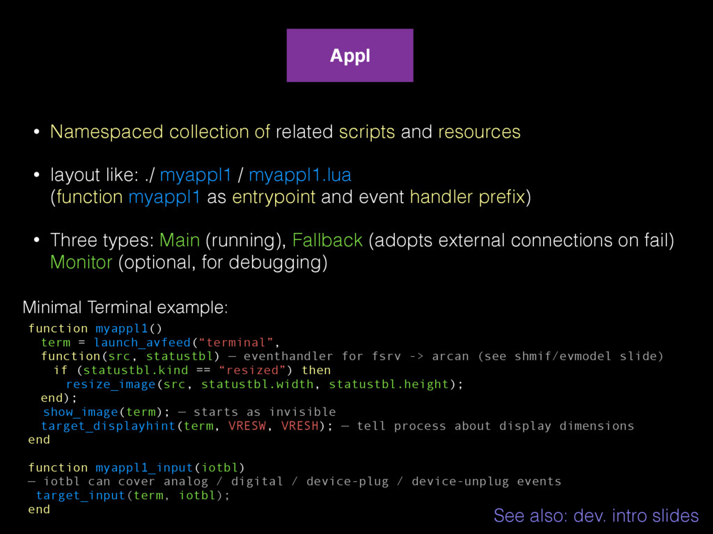 • Namespaced collection of related scripts and ...