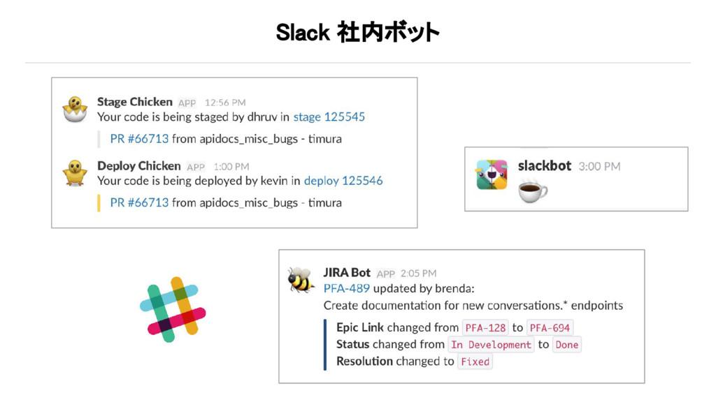 Slack 社内ボット