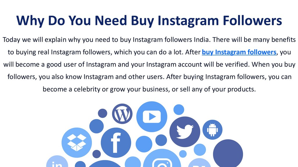 Today we will explain why you need to buy Insta...