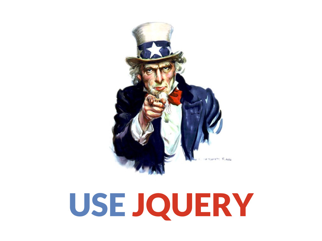 USE JQUERY