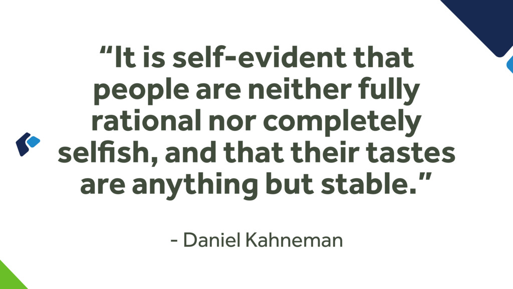 """It is self-evident that people are neither ful..."