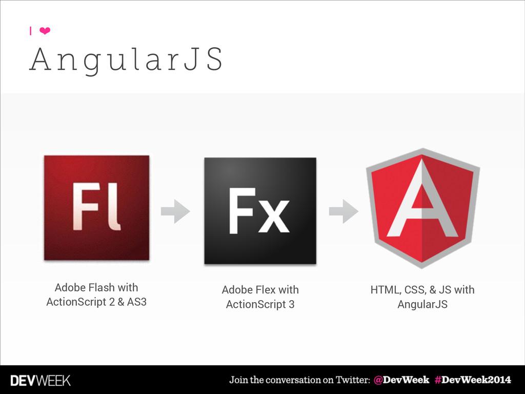 A n g u l a rJ S I ❤ Adobe Flash with ActionScr...