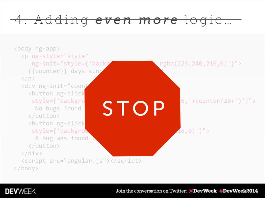 """<body ng-‐app>    <p ng-‐style=""""style"""" ..."""