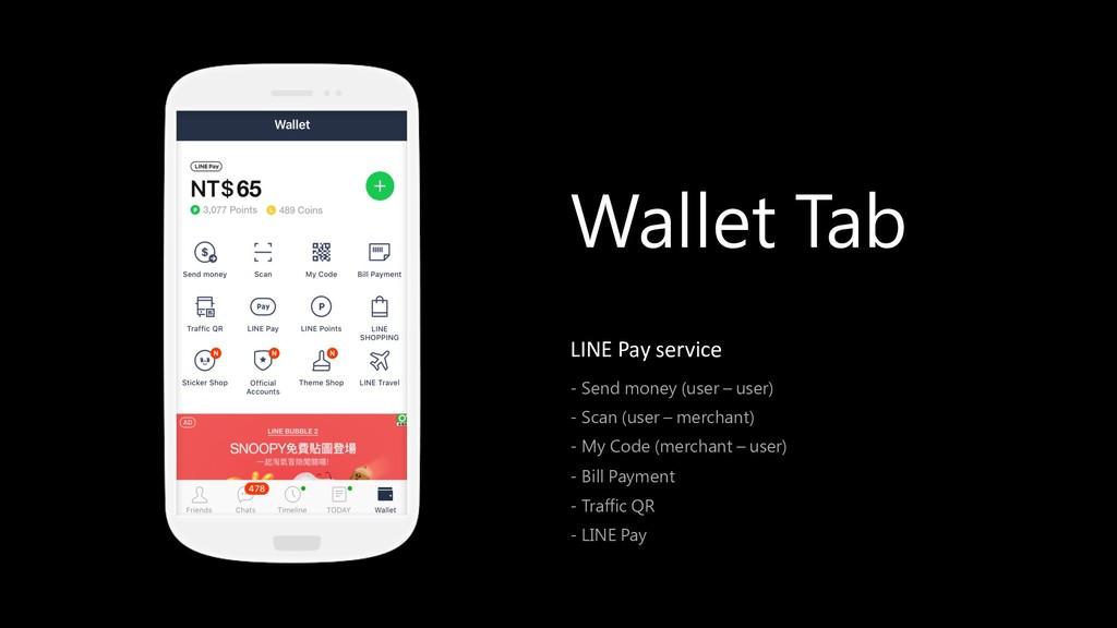 - LINE Pay service ) - ( )