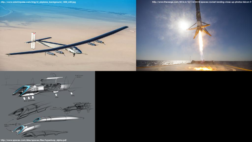 Hyperloop Alpha http://www.spacex.com/sites/spa...
