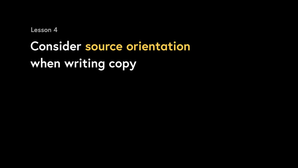 Consider source orientation when writing copy L...