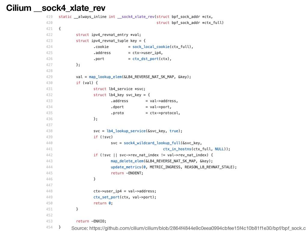 Cilium __sock4_xlate_rev Source: https://github...