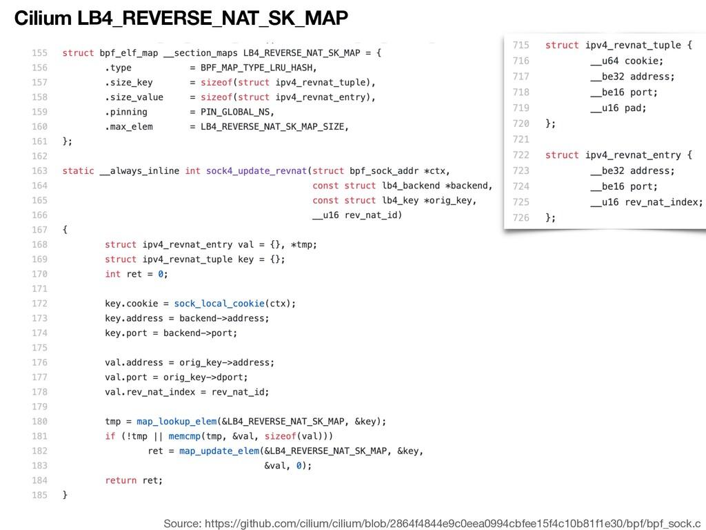 Cilium LB4_REVERSE_NAT_SK_MAP Source: https://g...