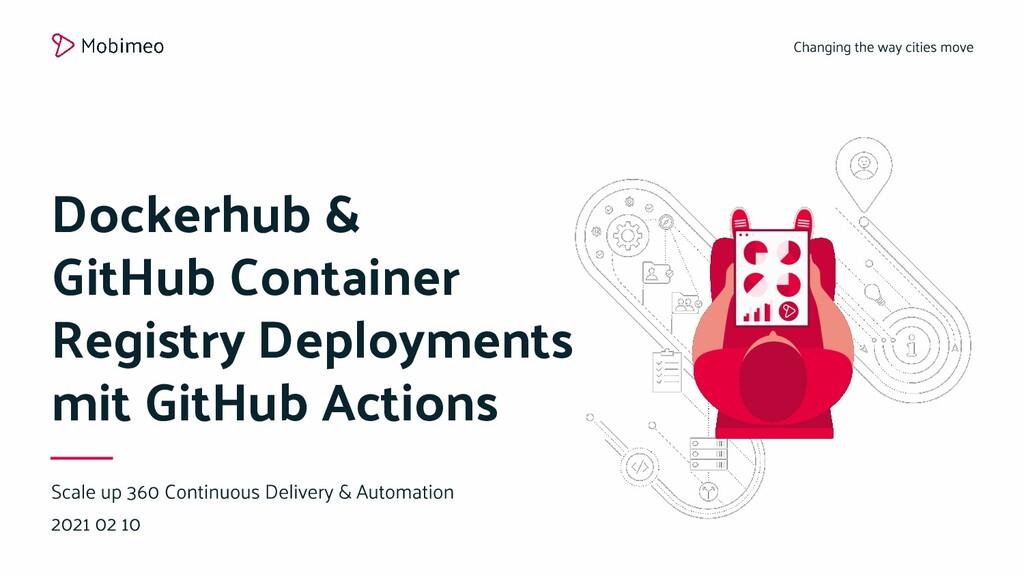 Dockerhub & GitHub Container Registry Deploymen...