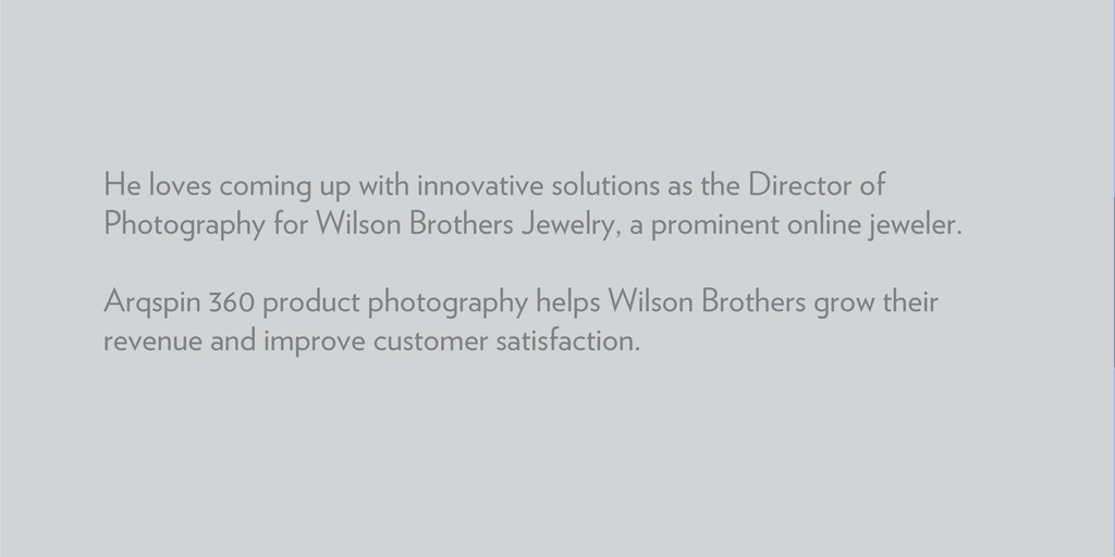 He loves coming up with innovative solutions as...