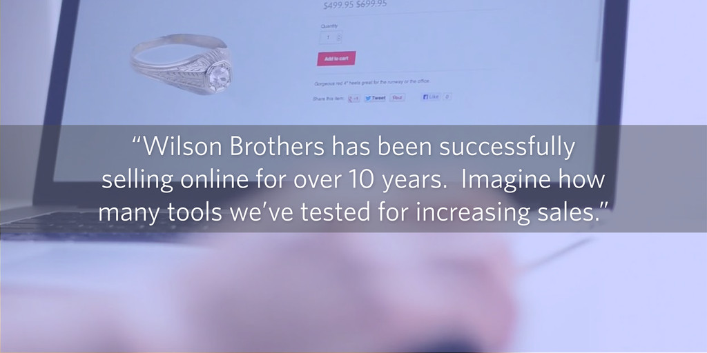 """""""Wilson Brothers has been successfully selling ..."""