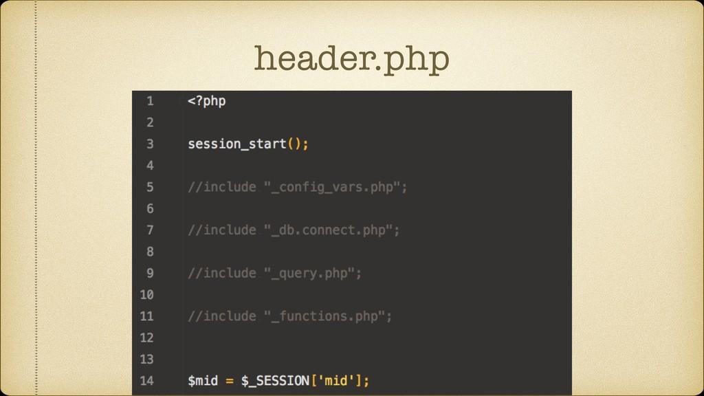 header.php