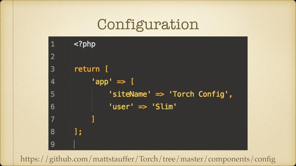 Configuration https://github.com/mattstauffer/T...