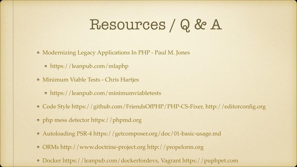 Resources / Q & A Modernizing Legacy Applicatio...