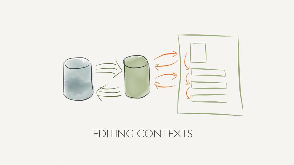 EDITING CONTEXTS