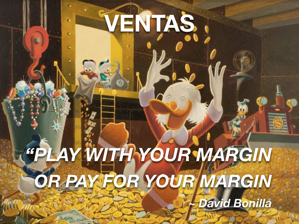 """VENTAS """"PLAY WITH YOUR MARGIN OR PAY FOR YOUR M..."""