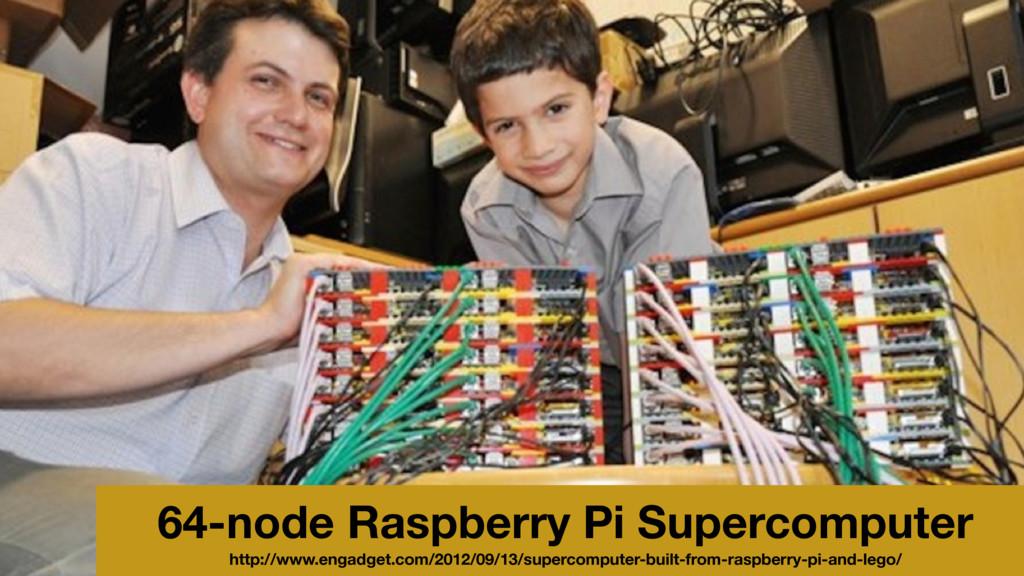 64-node Raspberry Pi Supercomputer http://www.e...