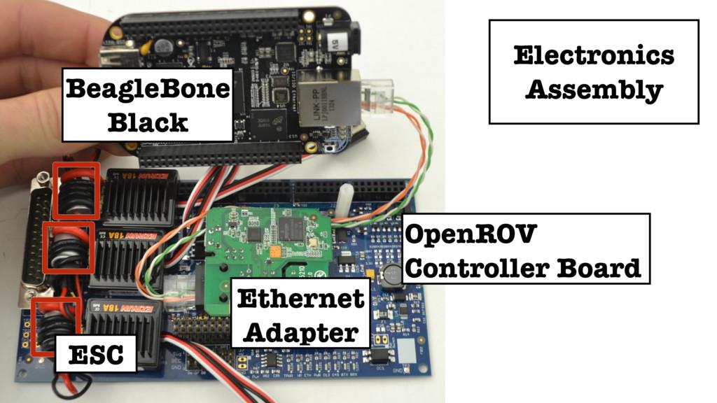 ESC Ethernet Adapter BeagleBone Black OpenROV C...