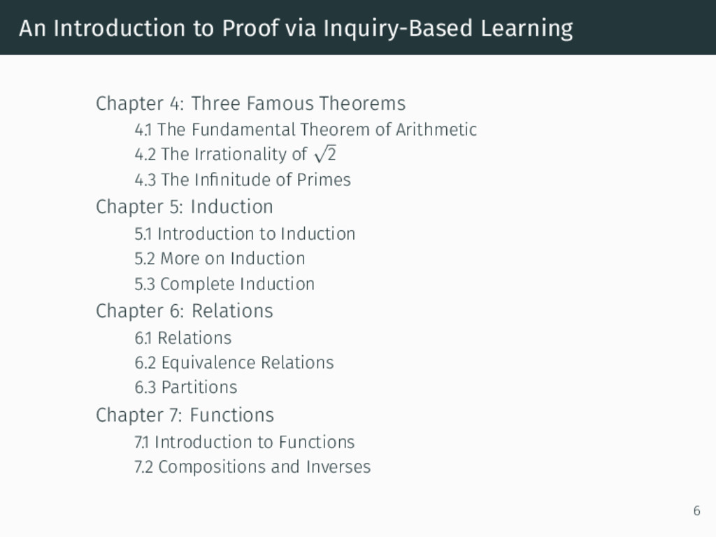 An Introduction to Proof via Inquiry-Based Lear...