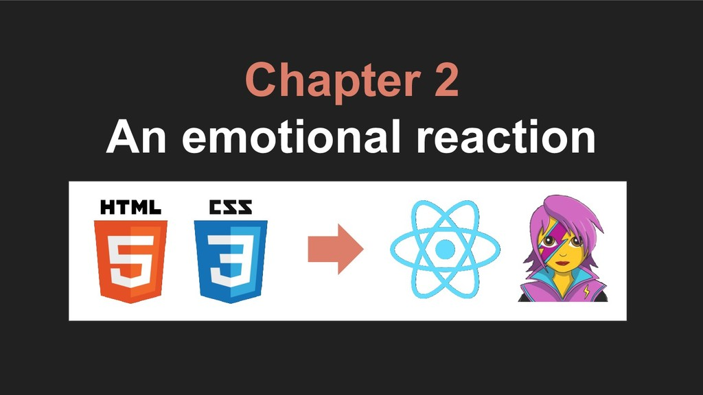 Chapter 2 An emotional reaction