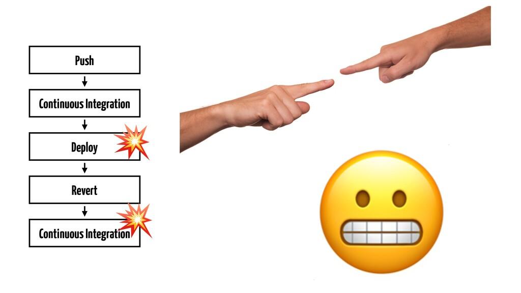 Push Continuous Integration Deploy Revert Conti...