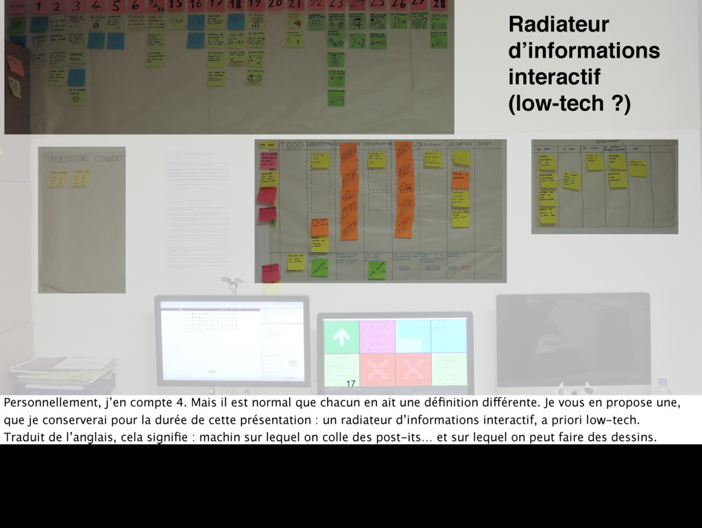 Radiateur d'informations interactif (low-tech ?...