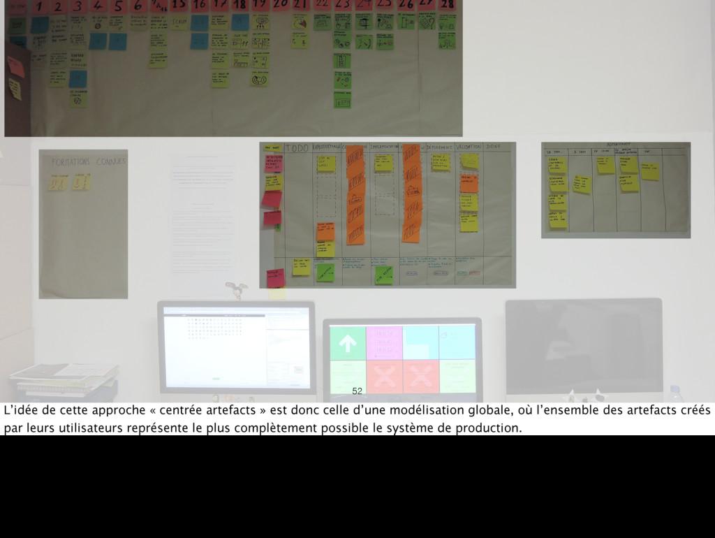 52 L'idée de cette approche « centrée artefacts...