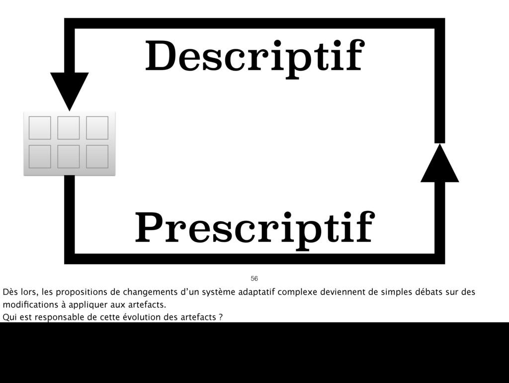 56 Descriptif Prescriptif Dès lors, les proposi...